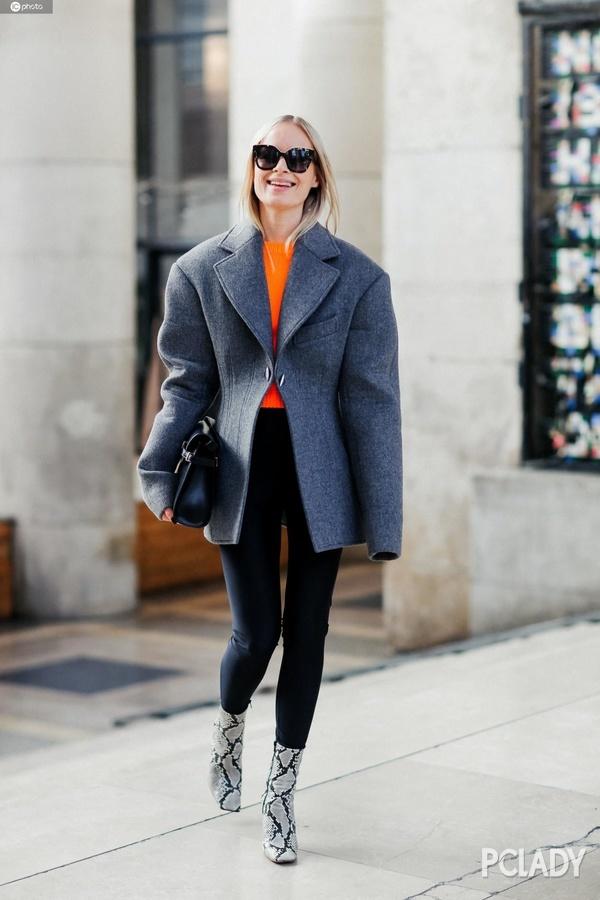 秋裤穿不时髦?杨幂林允的黑色打底裤才是今冬时髦温暖方式