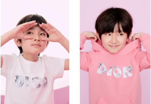 DIOR迪奥BABY DIOR男童限定系列 徜徉童真乐园
