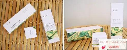 韩国新晋护肤品牌,爱宜美乐月桂绿色修复系列强效锁水